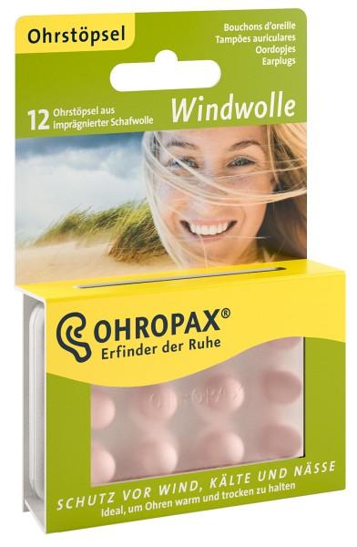 OHROPAX Windwolle Ohrstöpsel