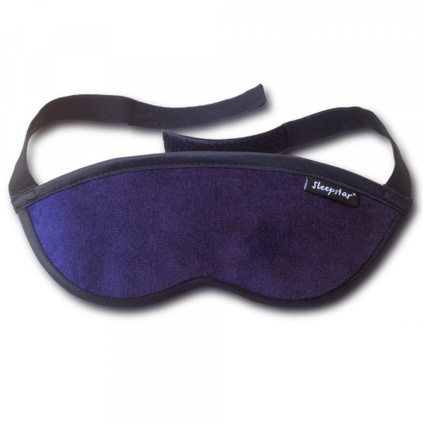 Orion Deluxe Schlafmaske Navy Blue