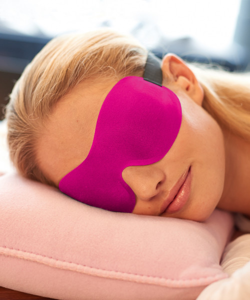 Ohropax Schlafmaske 3D Pink