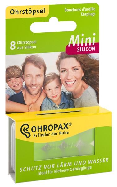 Ohropax Mini Silicon Ohrenstöpsel