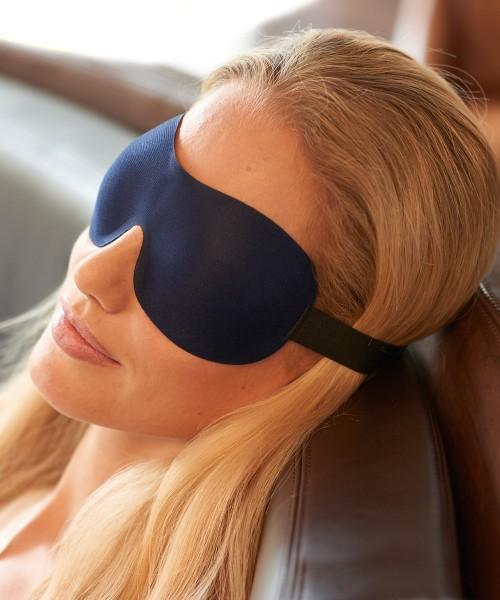 Ohropax Schlafmaske 3D Blau
