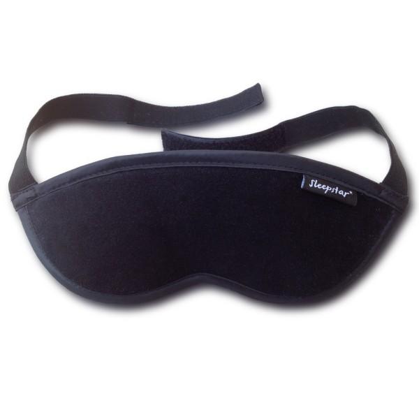 Orion Deluxe Schlafmaske Schwarz